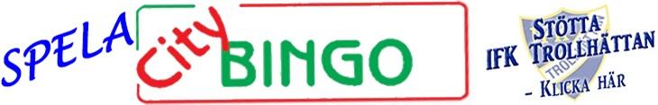 Spela på CityBingo - stöd IFK!