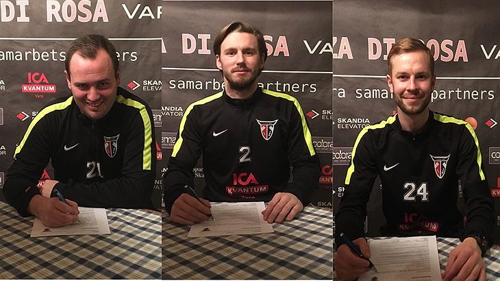 c87e74810e7 Den glatt leende trion är klara för en fortsättning i Vara IBK: