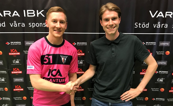 3a615e48cf2 Simon Hörnell och Philip Alfredsson från klubbens sportgrupp.