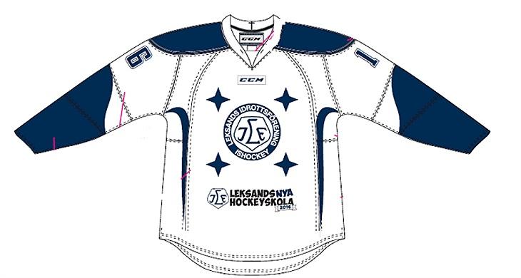Ny skola betyder också ny tröja! / Leksands IF Ishockey ...