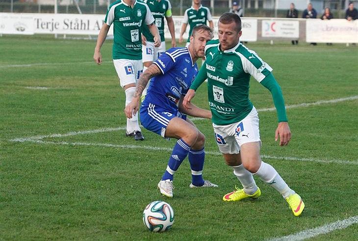 Jocke sänkte Strömtorp.   Säffle FF - Fotboll - Herrar - Svenskalag.se 793f8e9b16193