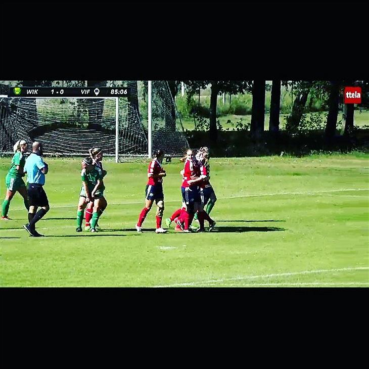 Två raka segrar följdes upp med en mycket rättvis derbypoäng efter 1-1 på  Hallevi mot Wargöns IK i lördagsvärmen. da1c657888be0