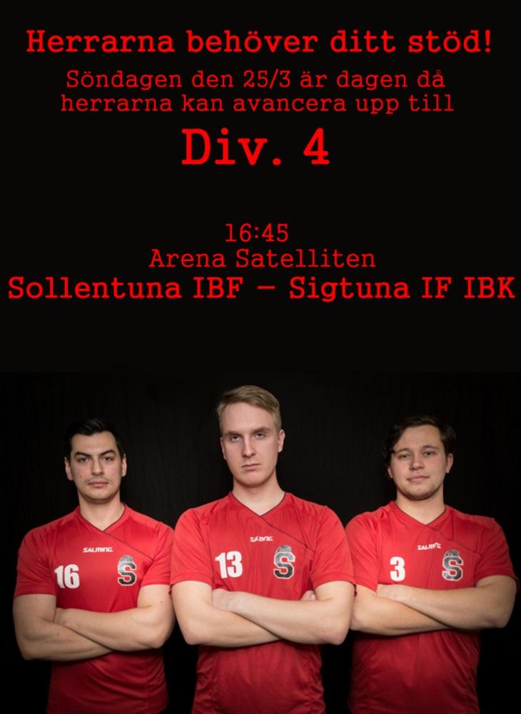Sista chansen! Sollentuna IBF Svenskalag.se