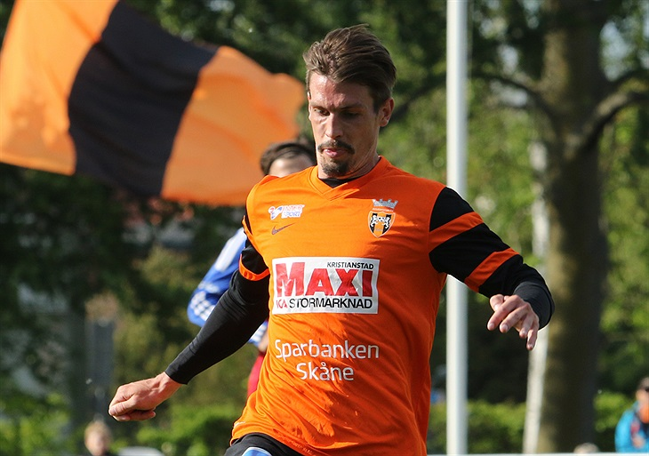 Andreas Grahm tillbaka mot Norrby   Kristianstad FC - Herr Div1 ... 7d4b2f9133588