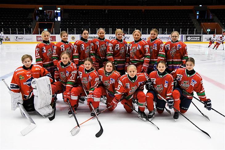 fashion really comfortable official store Hockeyhelg för flickspelare i Fjällräven Center / MODO ...