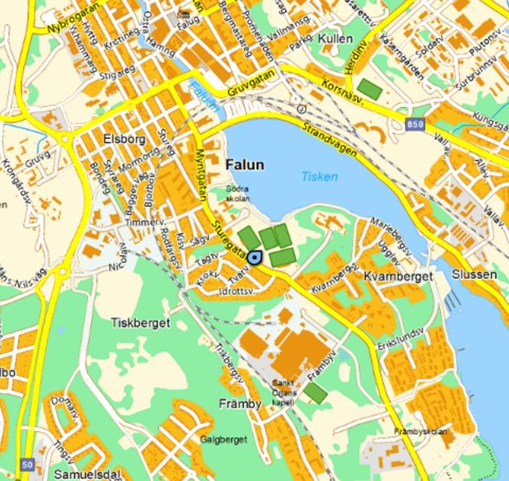 karta falun Falu FK   Svenskalag.se karta falun