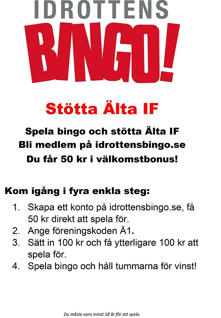 idrottens bingo