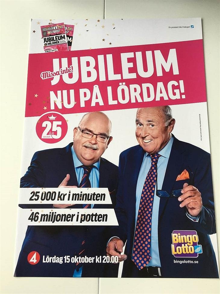 25 årsjubileum Bingolotto 1510 Eslövs HF Svenskalag.se