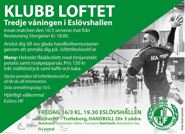 Hög tid att anmäla sig!! Eslövs HF Svenskalag.se